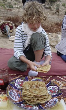 Leckere Wüstenpfannkuchen