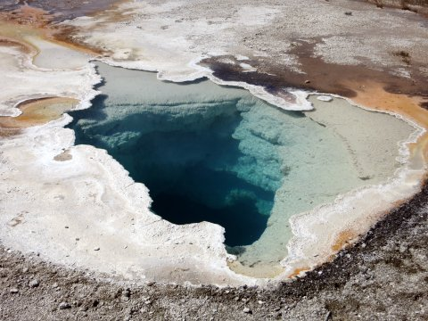 USA-Yellowstone- Upper Geyser Basin