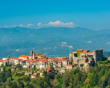 Festung in der Lunigiana