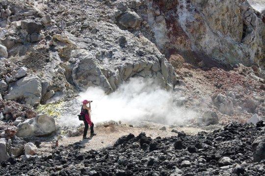 Vulkankrater Cerro Negro
