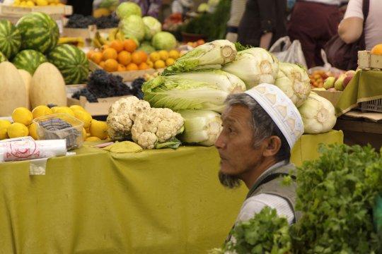 Gemüsemarkt in Kirgistan