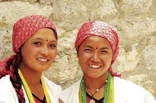nepalesische Tänzerinnen