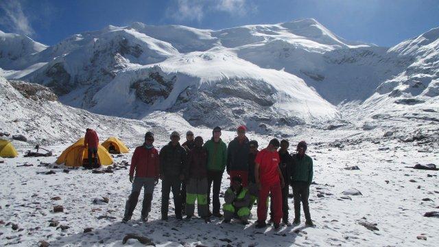 Nepal-Basislager-Mukot-Peak