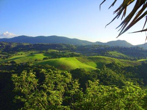 Hügellandschaft bei Spoleto