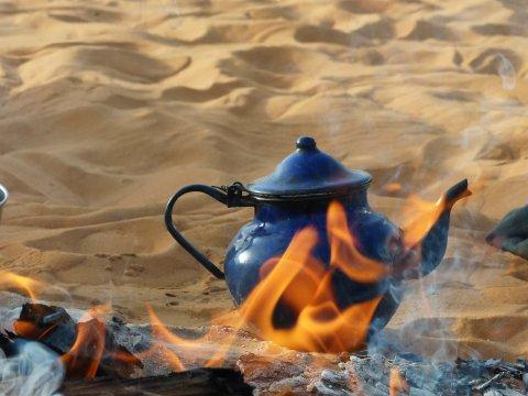 Zeit für die Teezeremonie