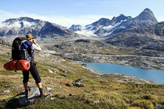 Aussicht am Fjord