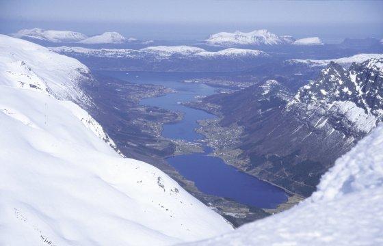 Skitour, Gipfel und Fjorde