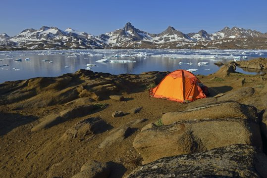 Camp in Tasiilaq