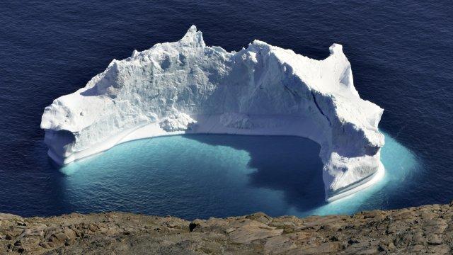 Eisberg im Meer