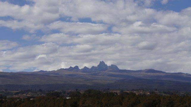 Kenia_Blick auf den Mt. Kenya