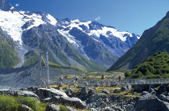 Wandern im Mt. Cook Nationalpark