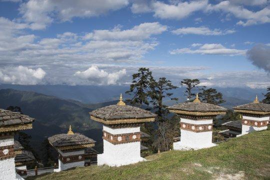 Stupas am Pass Dochu La