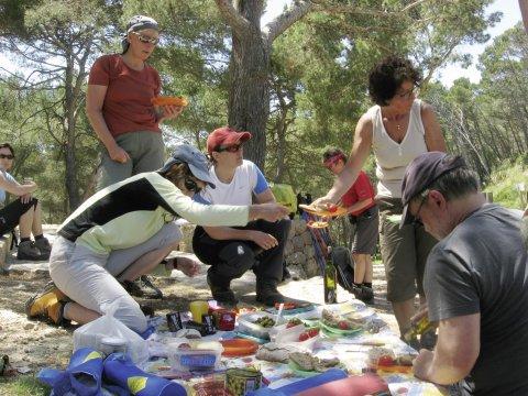 Picknick mit der Gruppe - Das andere Mallorca