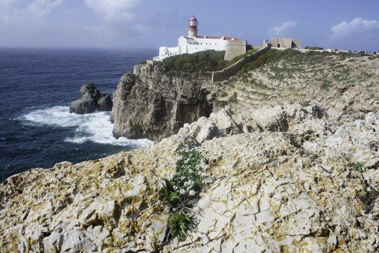 Leuchtturm Cabo São Vicente