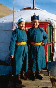 Mongolische Gastgeber