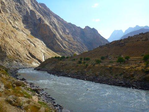 Der Fluss Pandsch