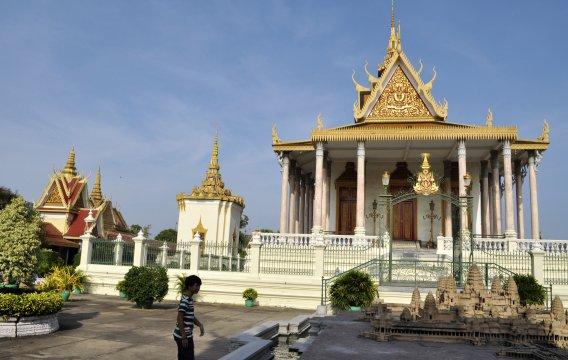 Kambodscha Phnom Penh Koenigspalast_4