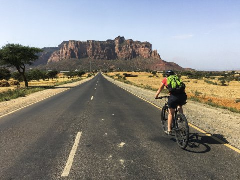 Entlang den Straßen Äthiopiens