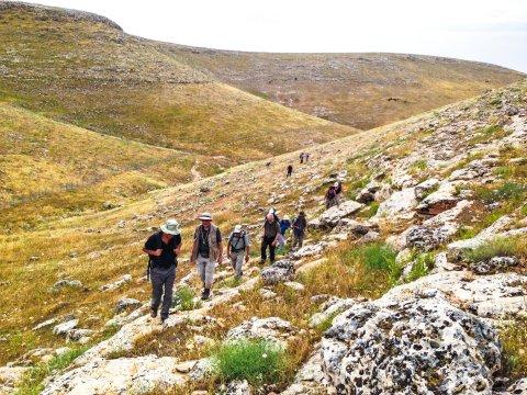 Wandern auf dem Abrahams Weg