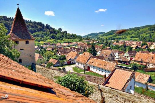 Dorfidylle in Siebenbürgen