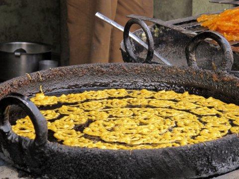 Typisches Essen Indien