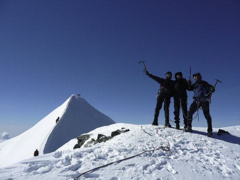 Bergsteiger Pollux