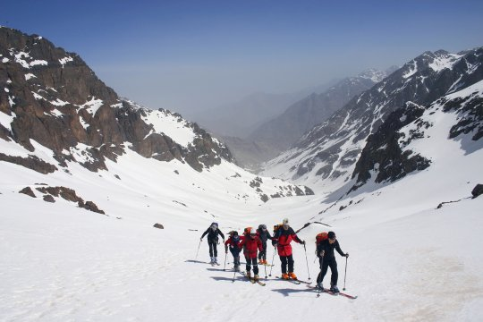 Marokko Ski Aufstieg_2