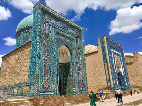 Nekropole Shohizinda in Samarkand