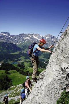 Alpen Schweiz Engelberg Klettersteig