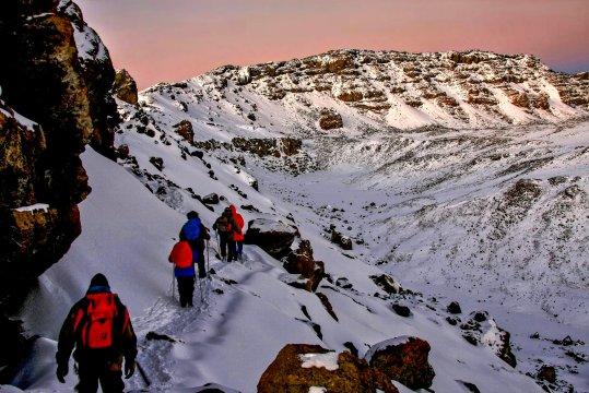 Kilimanjaro Der Gipfel ist nicht mehr weit
