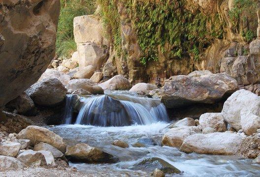 Wadi Ibn Hamad Schlucht