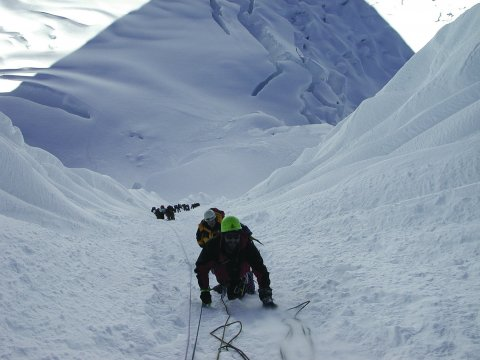 Kletterer-Alpamayo