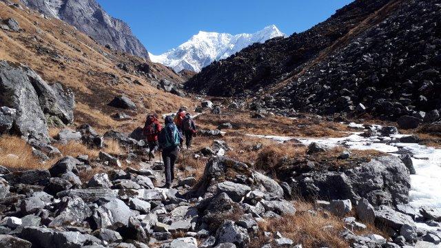 Rolwaling Zustieg Camp Tso Rolpa