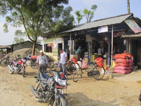 Terrai nepalesischer Kiosk_2