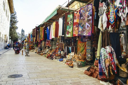 Bazaar in Jerusalem_2