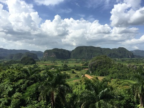 Kuba-Landschaft-Vinales-Valley