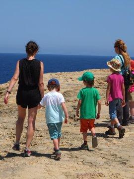 Gozo_Küstenwanderung