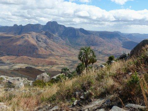 Madagaskar-Landschaft-Ausblick