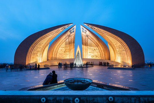 Pakistan Monument in Islamabad