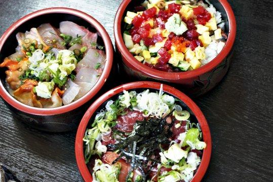 Typisches japanisches Essen