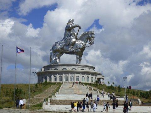 Reiterstatue von Dschingis Khan