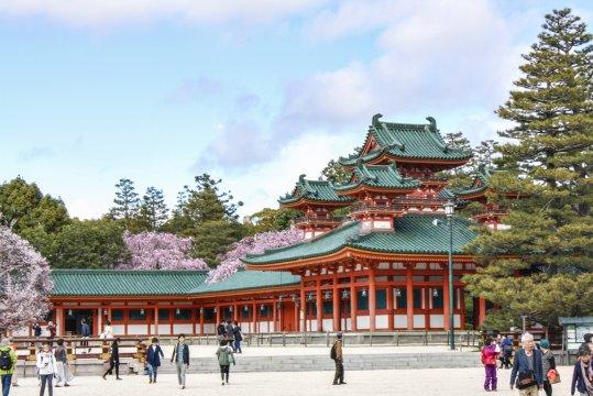 Heian Schrein in Kyoto