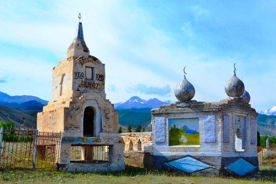 Kirgistan Fahrt nach Kotschkor