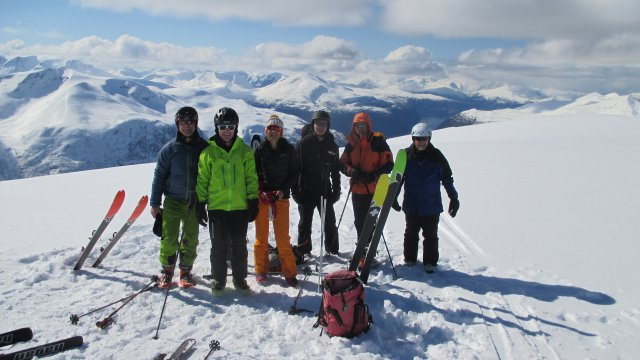 Winfried Flossdorf Norwegen Gipfelglück