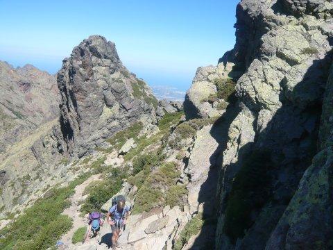 Etappe nach Carrozzu GR 20 Nord