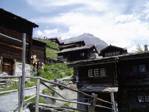 Findeln - ältestes Bergdorf in den Alpen