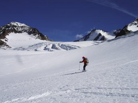 Skihochtour Similaun Skispur 2
