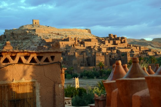 Marokko Ait Benhaddou