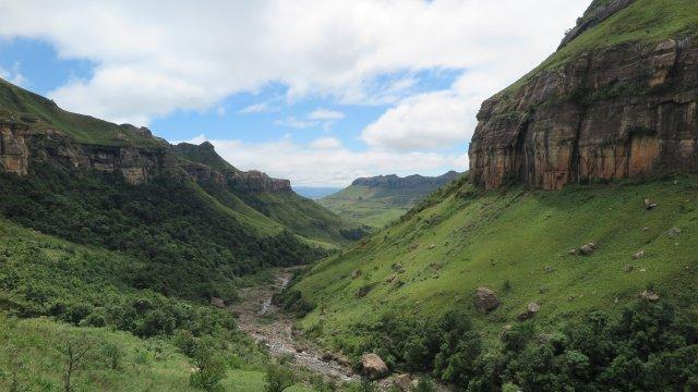 Südafrika-Drakensberge-Tuguela-Schlucht