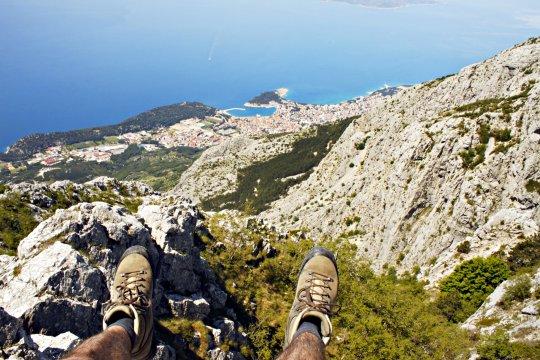 Schwindelerregender Ausblick auf Makarska_2